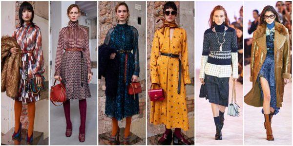 Примеры одежды в стилистике 70-х годов