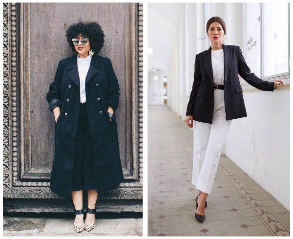 Мода 2019–2020, чёрно-белые образы