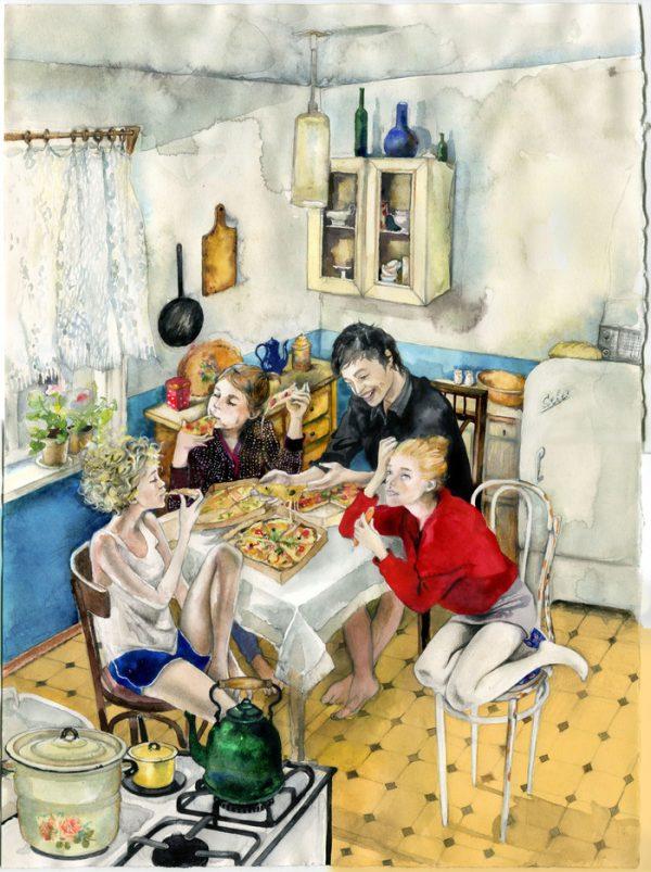 Гости на кухне
