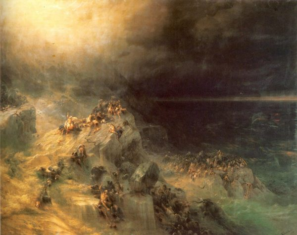 «Всемирный потоп» Айвазовского