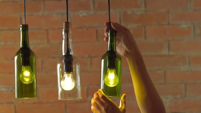 Яркий светильник