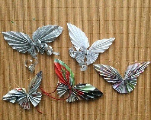 Бабочки в технике «Оригами»