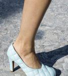 Туфли с эффектом стёжки от Bottega Veneta