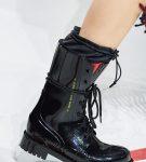 Ботинки в стиле милитари, коллекция Christian Dior
