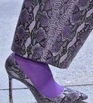 Туфли с тиснением под кожу рептилии, коллекция Sally Lapointe
