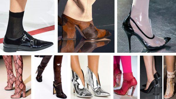 модная обувь осень 2019